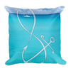 Infinity Anchor Square Pillow
