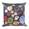 Shells on Sand Square Pillow