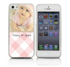 Baby Girl Custom Phone Case on Pink Gingham