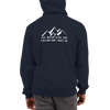 The Mountains are Calling and I Must Go Champion Hoodie in Navy