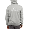The Mountains are Calling and I Must Go Champion Hoodie in Steel Grey