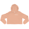 Norwell MA Coordinates Cropped Hoodie in Peach
