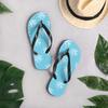 Palm Tree Pattern Flip-Flops