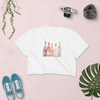 Rose Any Day American Apparel Crop Top