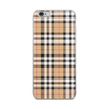 Burberry Style Plaid iPhone Case