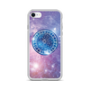 Zodiac Signs on Galaxy Background iPhone Case