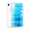 Blue Wash Tie Dye iPhone Case for all iPhone models including XR, XS Max, X, XS, 7Plus, 8Plus, 7, 8, 6Plus, 6s Plus, 6, 6s
