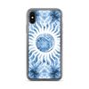 Blue Purple Green Tie Dye iPhone Case by Cases by Kate for all iPhone models including XR, XS Max, X, XS, 7Plus, 8Plus, 7, 8, 6Plus, 6s Plus, 6, 6s