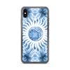 Moon and Sun Tie Dye iPhone Case