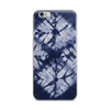 Blue Denim Tie Dye iPhone Case for all iPhone models including XR, XS Max, X, XS, 7Plus, 8Plus, 7, 8, 6Plus, 6s Plus, 6, 6s