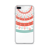 Fun Holiday Pattern iPhone Case on White iPhone Case