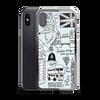London Doodles iPhone Case