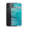 Blue Rust iPhone Case