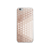 Rose Gold Triangle iPhone Case