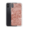 Rose Gold Texture iPhone Case