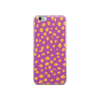 Pink Gold Dots iPhone Case