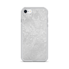 Silver Floral iPhone Case