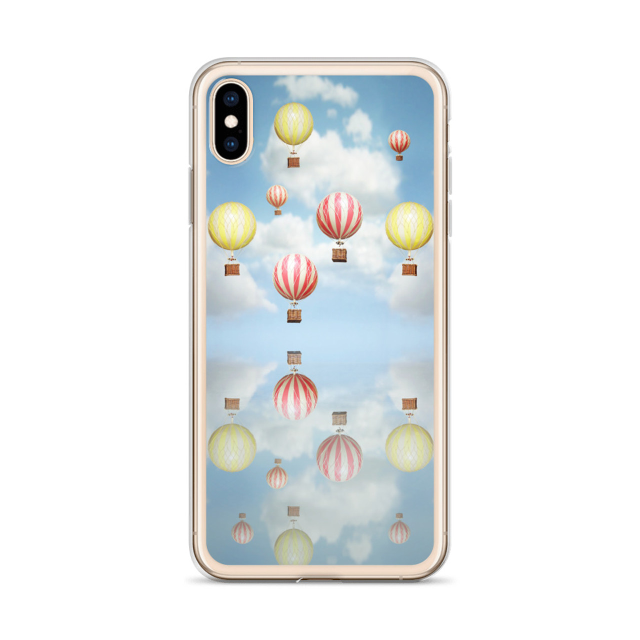 Old Fashioned Hot Air Balloons Iphone Case