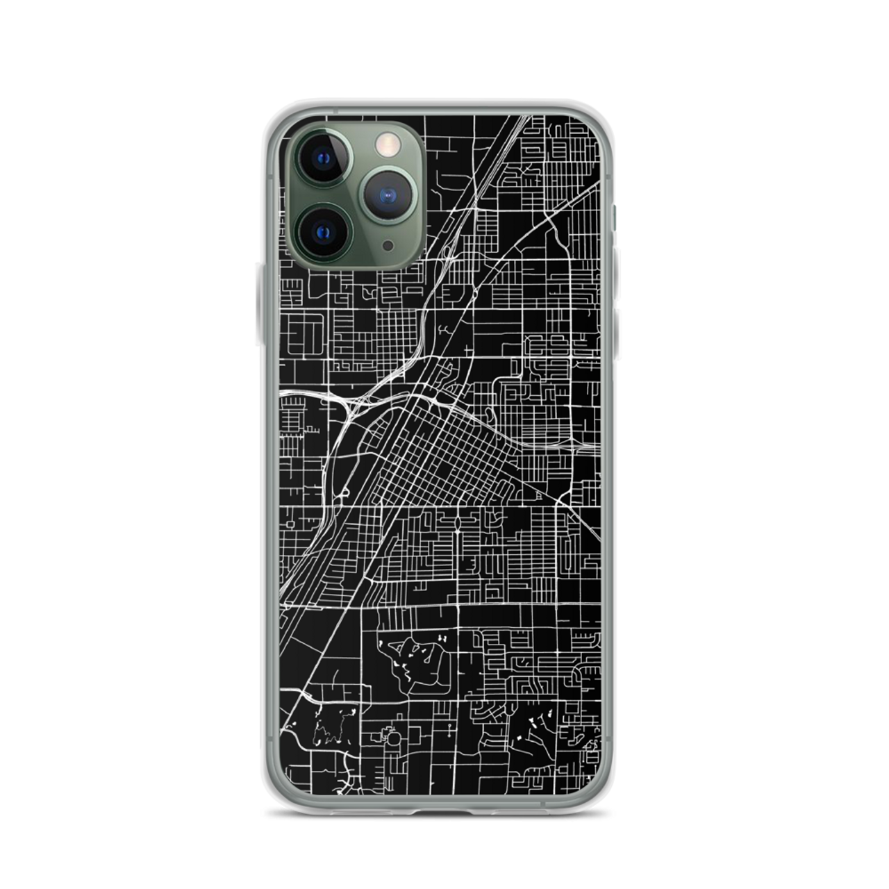 Las Vegas City Map Iphone Case By Cases By Kate
