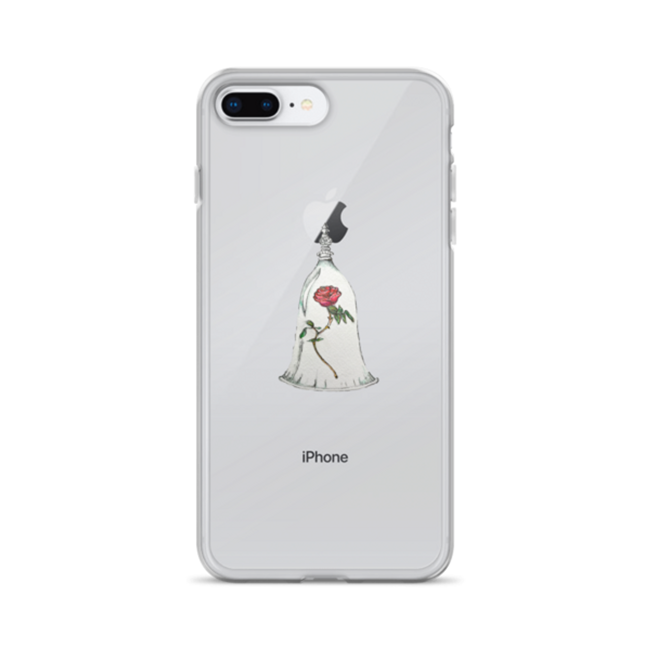 reputable site c89db f6f31 Enchanted Rose iPhone Case