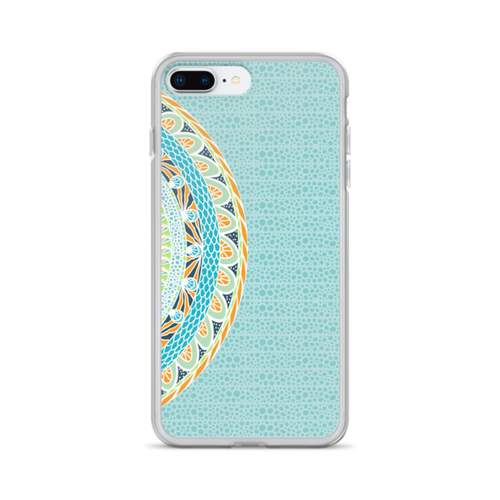 Blue African iPhone Case