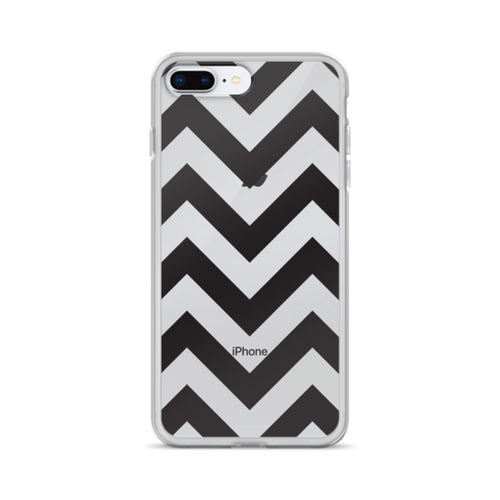 Black Chevron iPhone Case