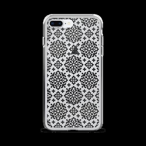 Black and White Geometric iPhone Case