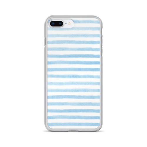 Blue Stripes iPhone Case