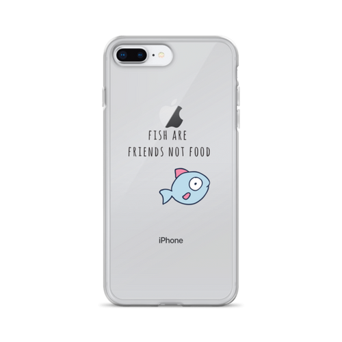 Fish are Friends Not Food iPhone Case