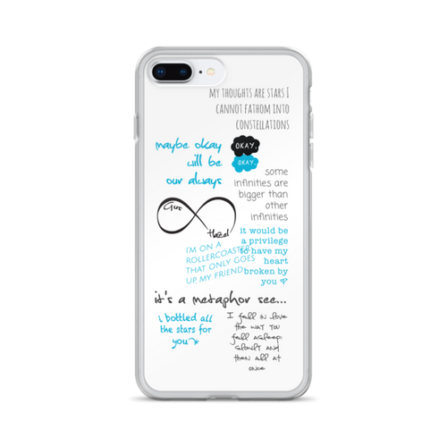 Fault in Our Stars Quotes iPhone Case