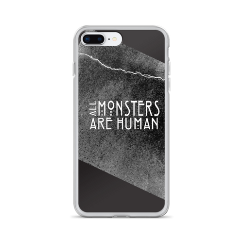 All Monsters are Human iPhone Case