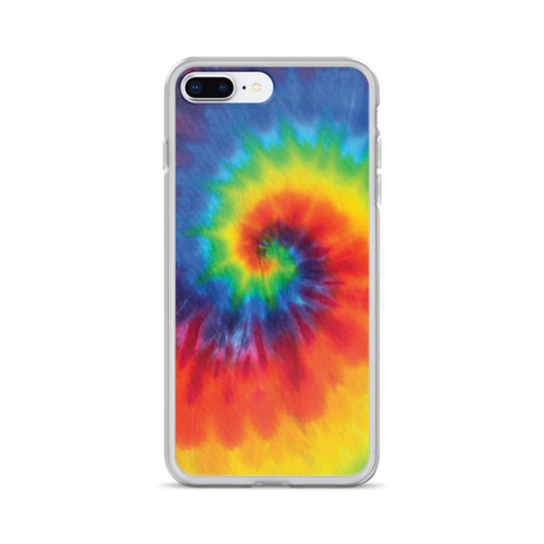 Spiral Tie Dye iPhone Case