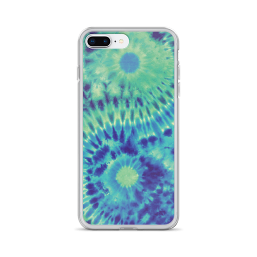 Yin Yang Tie Dye iPhone Case
