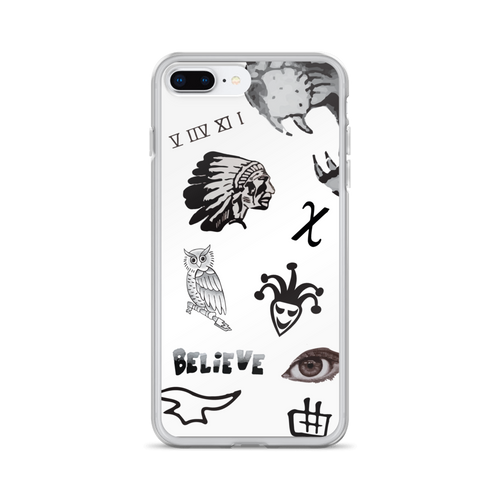 JB's Tattoos iPhone Case