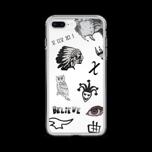 JB's Tattoos iPhone Case