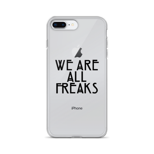 We are all Freaks AHS iPhone Case