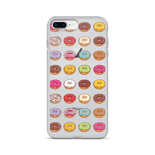 Donut Pattern iPhone Case
