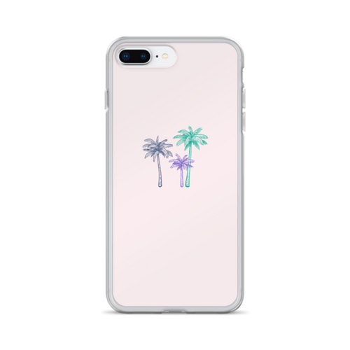 Pastel Palms iPhone Case