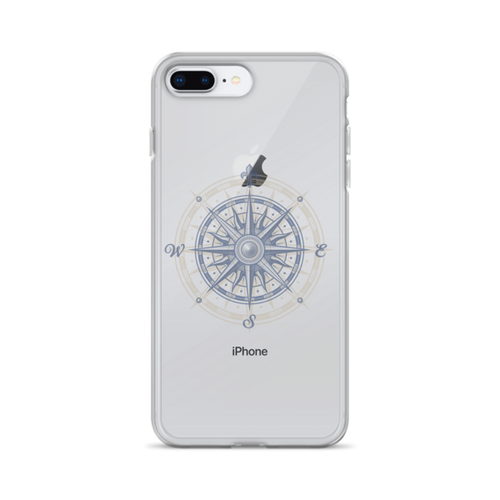 Compass Transparent iPhone Case