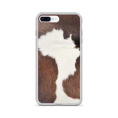 Horse Hide Pattern iPhone Case