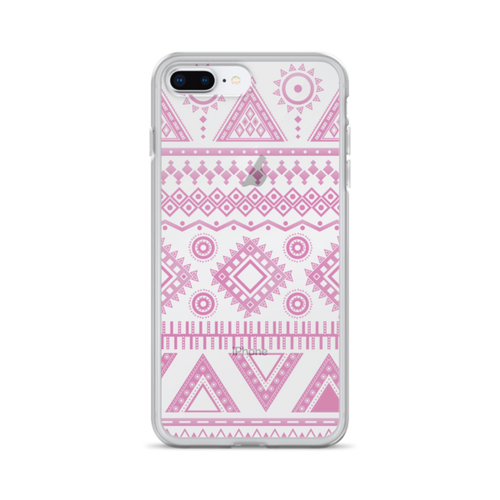 Pink Aztec iPhone Case