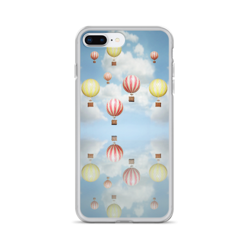 Vintage Hot Air Balloons iPhone Case