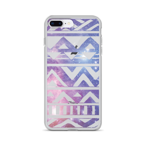 Galaxy Aztec Pattern iPhone Case