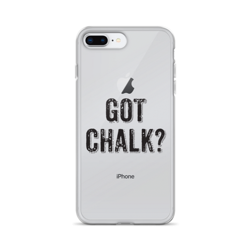 Got Chalk iPhone Case
