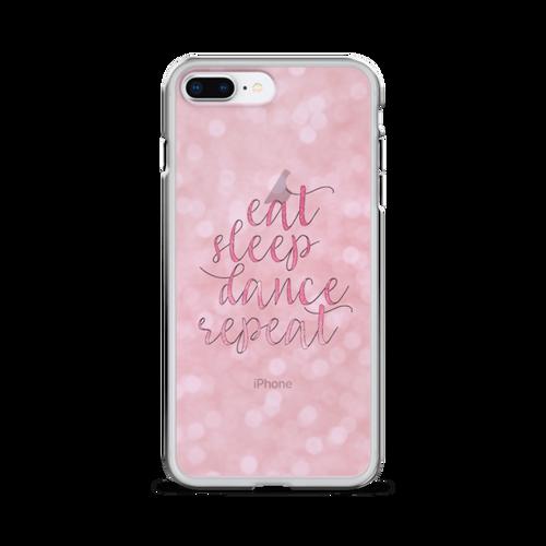 Eat Sleep Dance Repeat iPhone Case