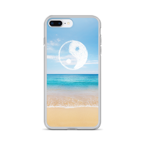 Yin Yang Beach iPhone Case