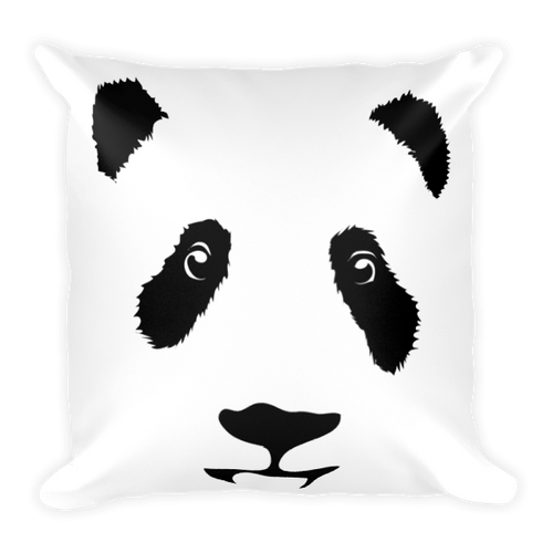 Panda Square Pillow