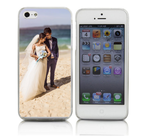 Custom Wedding Picture Phone Case in Color