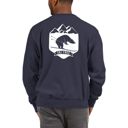 Ski Free Bear Champion Sweatshirt
