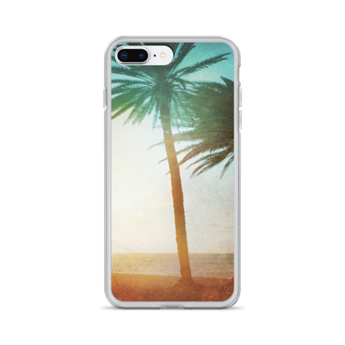 Lone Palm iPhone Case